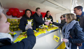 Bedenker patatje Joppie chips bedankt fans