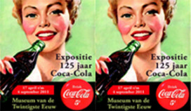 Museumexpo 125 jaar Coca Cola