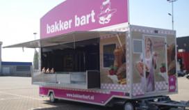 Bakker Bart met wagen op evenementen en festivals
