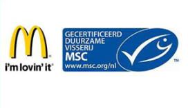Gecertificeerd duurzame vis bij McDonald's