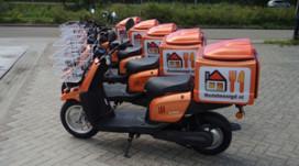 Thuisbezorgd.nl test elektrische bezorgscooters