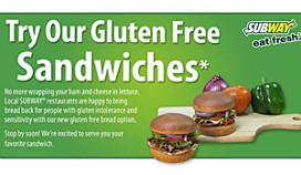 Subway test glutenvrije broodjes