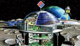 Domino's Pizza wil restaurant op de maan
