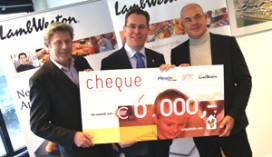 Fritesfabrikant doneert €6.000 aan Ronald McDonald Kinderfonds