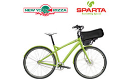 New York Pizza gaat per fiets bezorgen