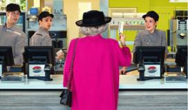 McDonald's trakteert koningin op 'appeltaart