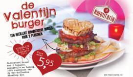Romantische 'Valentijnsburger' voor twee bij Kwalitaria