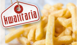 Woensdag patatdag bij Kwalitaria