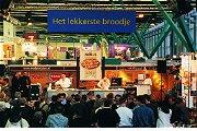 Achttien finalisten gaan voor het 'Lekkerste Broodje van 2002