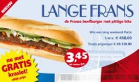 Verhage introduceert Lange Frans