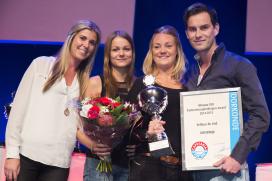 Winnaar SVO Opleidingen Award: `zelf net uit schoolbanken