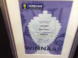 Publieksprijs Horecava Innovation Award voor Bacon Bullet