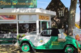 Plaza De Frietkraam in actie voor lokale woonvorm