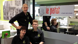 Cafetaria Top 100 2014 nummer 25: Snackpoint Le Patat, Aarle-Rixtel