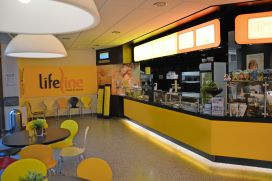 Cafetaria Top 100 2014 nummer 70: Lifeline Food & Drinks, Ridderkerk