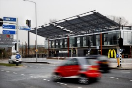 McDonald's van start in nog te openen Amsterdamse Food Markthal