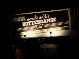 Festival Rotterdamse Kost: drie dagen cultureel en culinair genieten