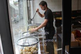 Fotoverslag Frietwinkel in Utrecht
