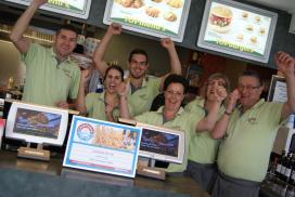 t Kruuspunt snelste stijger Cafetaria Top 100 2014