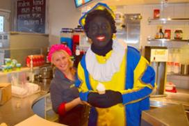 Foto's: Sinterklaas in de cafetariabranche