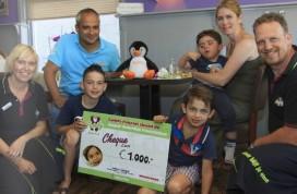 Family Fijnaart steunt Jasper Valentijn Foundation