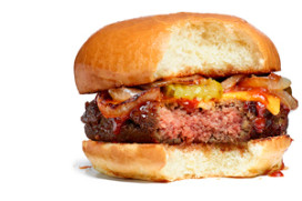 Startup ontwikkelt veganistische cheeseburger