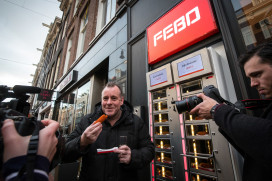 Febo start pop up store in PC Hooftstraat