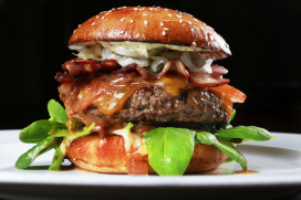 Grootste hamburger komt uit Harskamp