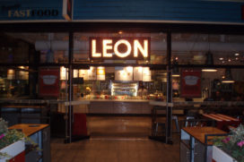 Britse keten Leon opent filiaal op Schiphol