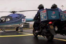 Domino's trapt Order Anywhere af met ludieke helikopter-actie
