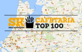 Cafetaria Top 100 landkaart 2016/2017