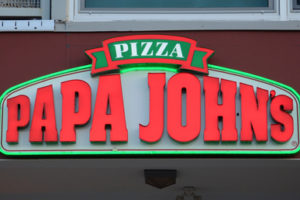 Papa John's Pizza opent eerste eat-in