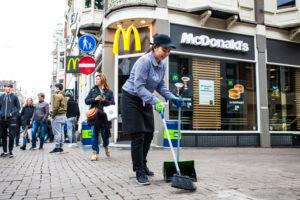 McDonald's gaat strijd aan tegen zwerfafval