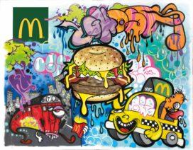McDonald's haalt beroemd street art collectief naar Nederland