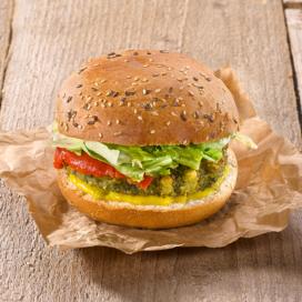 Verhage introduceert vegetarische burger