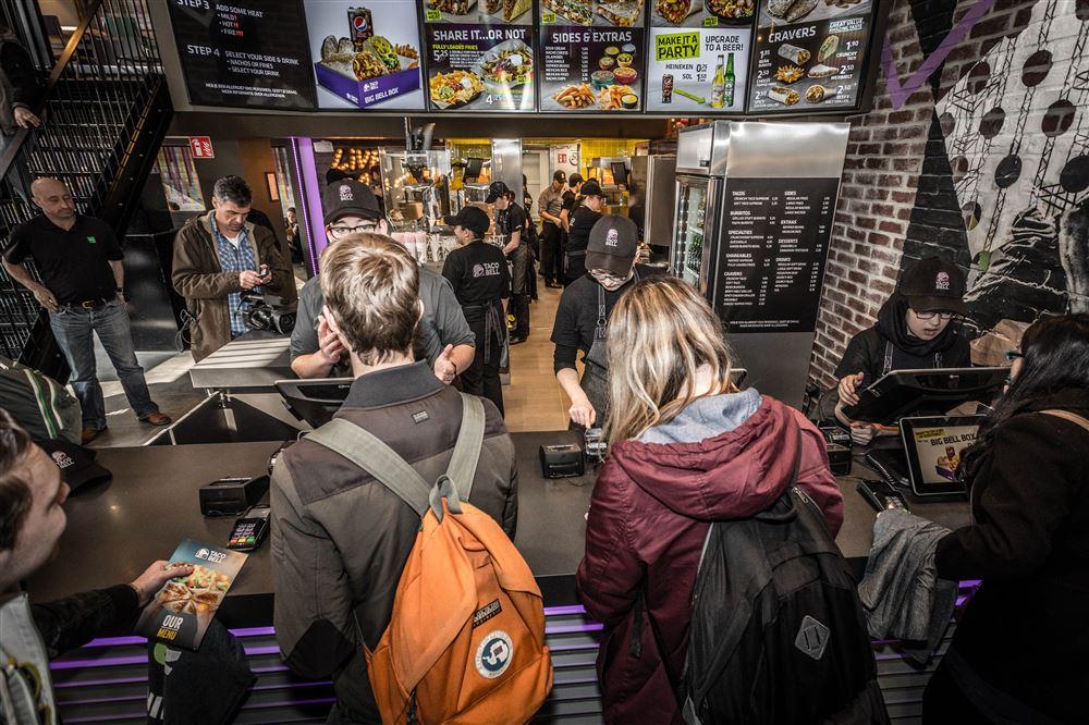 Taco Bell: eerste Nederlandse vestiging van start in Eindhoven