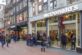 McDonald's start proef met McDelivery