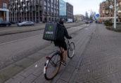 Uber Eats voor het eerst buiten de Randstad