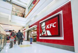 KFC China laat gasten betalen met glimlach