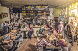 Cafetaria Top 100 2017 nr.35: AnyTyme Snack &  Dine Lelystad, Lelystad