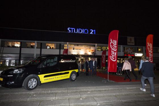 De uitreiking van de Cafetaria Top 100 2017 vond plaats in Studio 21 op het Mediapark in Hilversum. Foto: Koos Groenewold.