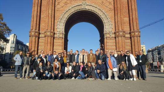 Het waren mooie dagen in Barcelona, met genoeg inspiratie voor de eigen onderneming.