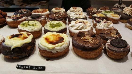 En Kronuts, een combinatie van een donut en een croissant.