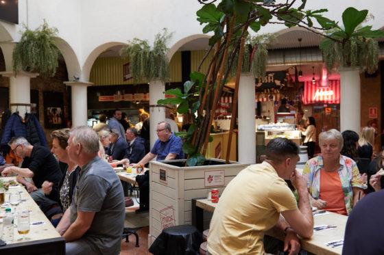 Mercat Princesa, een foodcourt op z'n Catalaans. Foto: Alvaro Gonzalez