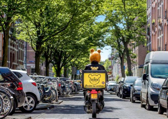 Maaltijdbezorgers krijgen bromfiets- en scootertraining