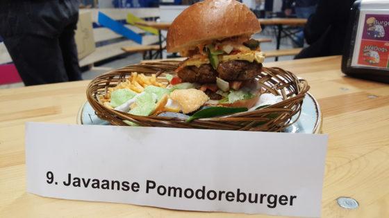 De Podomoro Burger van Ferlyan Palimborg was duidelijk de beste tijdens Lekkerste Hamburger Fastest