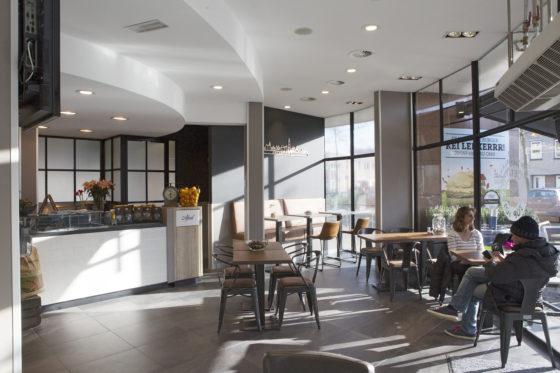 Ook het cafetariagedeelte van Lekkerrr werd onder handen genomen. Foto: Ton Kastermans