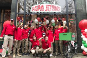 Papa John´s Pizza opent vestiging in Rotterdam