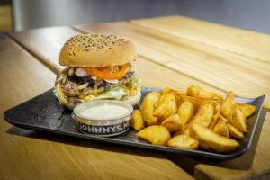 Johnny's Burger Company: stoere zaak, stoere hamburgers