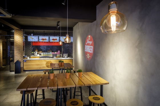 (C) Roel Dijkstra / Joep van der Pal   Den Haag - Johnny's Burger